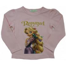 """Кофта розовая на девочку с длинным рукавом """"рапунцель"""""""